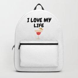 I LOVE MY LIFE Backpack