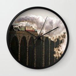 60163 Tornado Steaming over Ribblehead Viaduct Wall Clock