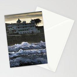 Stormy Burgh Island Hotel Stationery Cards