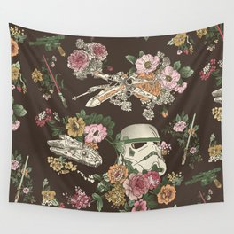 """Botanic Wars"" by Josh Ln Wall Tapestry"