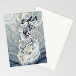Moon Oiran Stationery Cards