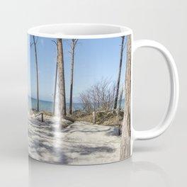 A Day At The Baltic Sea Beach Coffee Mug
