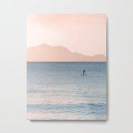 Minimalist Sunset Metal Print