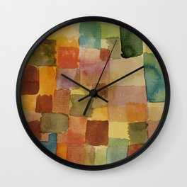 "Paul Klee ""Untitled 1914a"" Wall Clock"