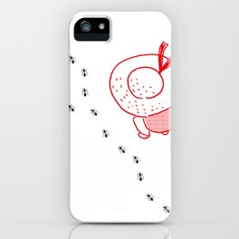The march of an ant iPhone Case