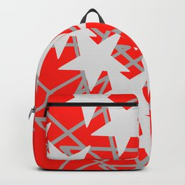 Star Pattern Abstract / GFTstar011 Backpack