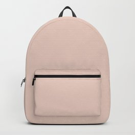 Baby Girl Pastel Pink Solid Color Inspired by HGTV 2020 Color of the Year Romance HGSW2067 Backpack