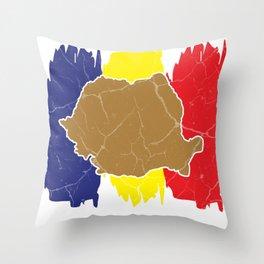 Romania gift Bucharest Transylvania Romanian Throw Pillow