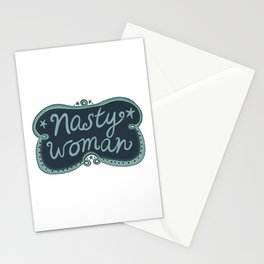 Nasty Woman Handlettering  Stationery Cards