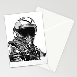 Fighter Pilot Stationery Cards