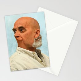 Portraits in Retrograde - Jeff Stationery Cards