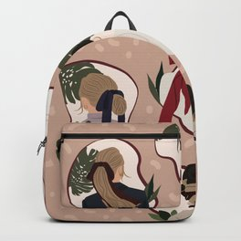 Hair Tie Obsession Backpack