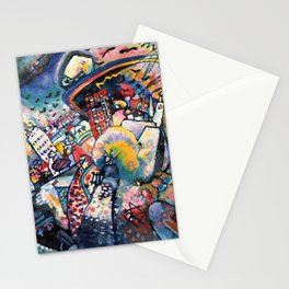 Wassily Kandinsky Moscow Red Square Stationery Cards