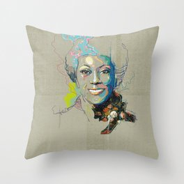Marlena Shaw Throw Pillow