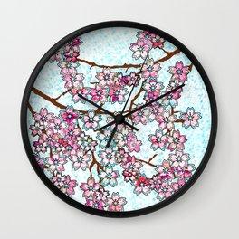 April in Japan Wall Clock