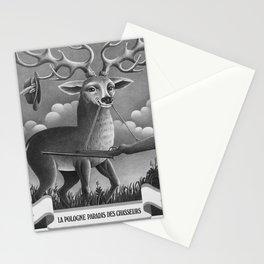 La Pologne Paradis des chasseurs advertisement Stationery Cards