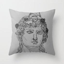 Dionysus Throw Pillow