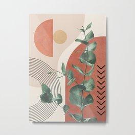 Nature Geometry IV Metal Print