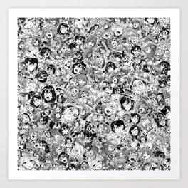 Manga ahegao Kunstdrucke