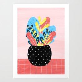 Pastel Florals Art Print