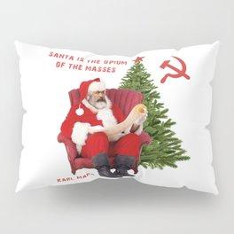 Karl Marx Santa Pillow Sham