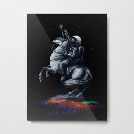 Across The Unicverse Metal Print