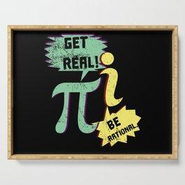3. 14 Math Serving Tray
