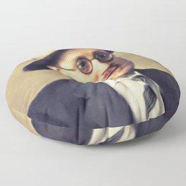 James Joyce, Literary Legend Floor Pillow