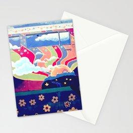 Hippie Camper Van Stationery Cards