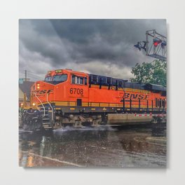 Rainy Days in Duluth 1 Metal Print