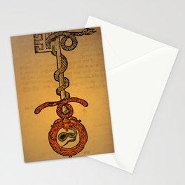 misterio visual 21: la llave del todo Stationery Cards