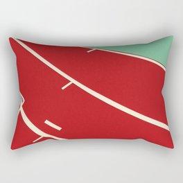 Running Track Rectangular Pillow
