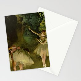 Ballet Rehearsal By Edgar Degas | Reproduction | Famous French Painter Stationery Cards