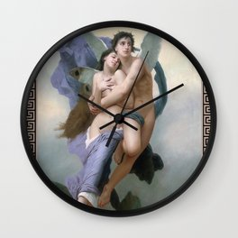 The Abduction of Psyche, Divine Love, Angel Wall Clock