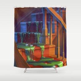 Monster Blood Shower Curtain