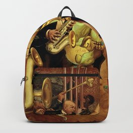 Metropolis No. 2 - Gross Stadt by Otto Dix Backpack