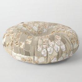 Mermaid Glitter Scales #5 (Faux Glitter) #shiny #decor #art #society6 Floor Pillow