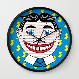 Tillie NJ | Pop Art Wall Clock