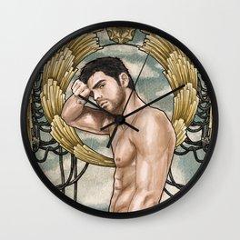 menfolk Wall Clock