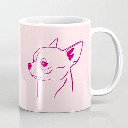 Chihuahua (Pink and Berry) Coffee Mug