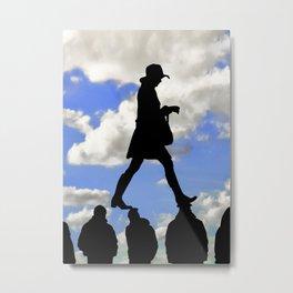 Radical Feminism Concept Illustration Metal Print
