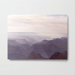 Misty Canyon Metal Print