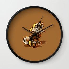 Doggo Punk Wall Clock
