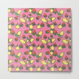 Strawberry Lemonade  Metal Print