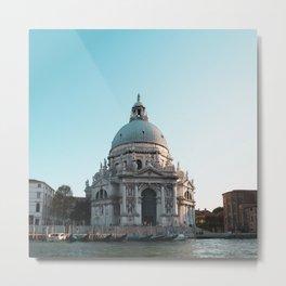 Santa Maria della Salute. Venice. Italy Metal Print