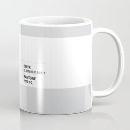 Meh - Colour Card Coffee Mug