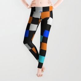 Square Grid III Leggings