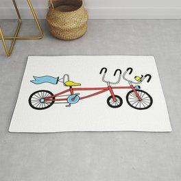 BICYCLE #1 Rug