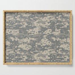 Army Digital Camo Camouflage Digis Digicam UCP Military Serving Tray