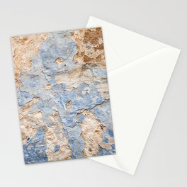 Peeling paint on wall (2) Stationery Cards